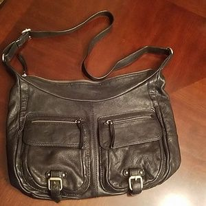 Banana Republic leather crossbody bag
